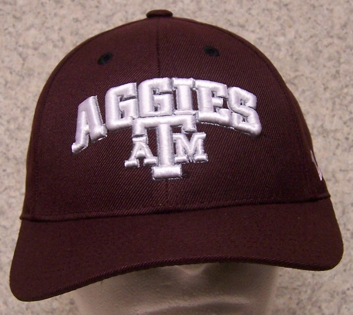 Texas A and M Aggies NCAA Adjustable Size National Collegiate Athletic Association Baseball Cap thumbnail