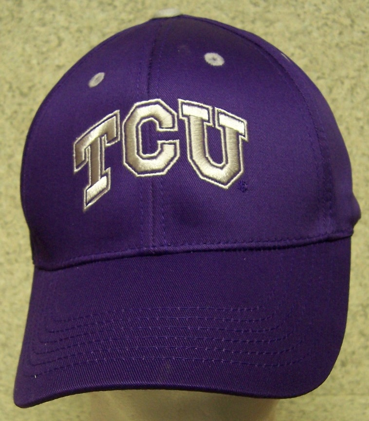 Texas Christian Horned Frogs NCAA Adjustable Size National Collegiate Athletic Association Baseball Cap thumbnail