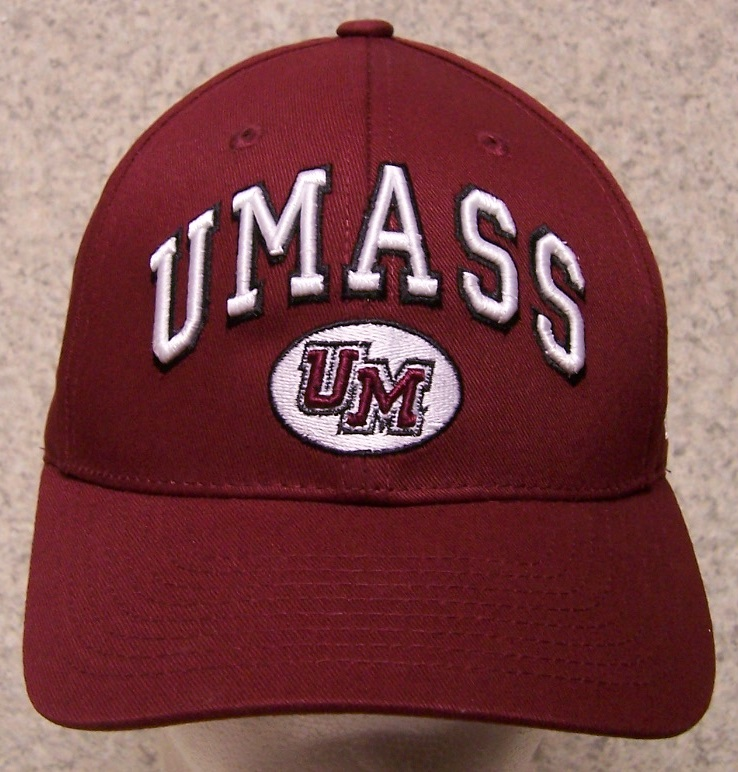 U Mass Minutemen NCAA Adjustable Size National Collegiate Athletic Association Baseball Cap thumbnail