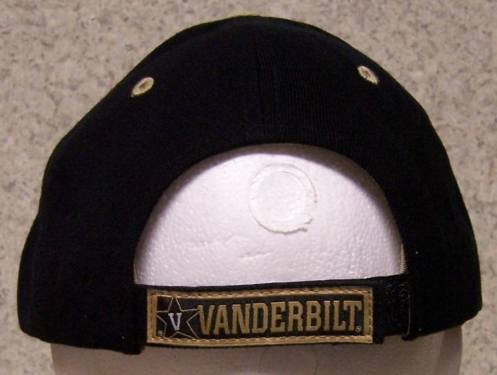 embroidered baseball cap ncaa vanderbilt commodores new 1