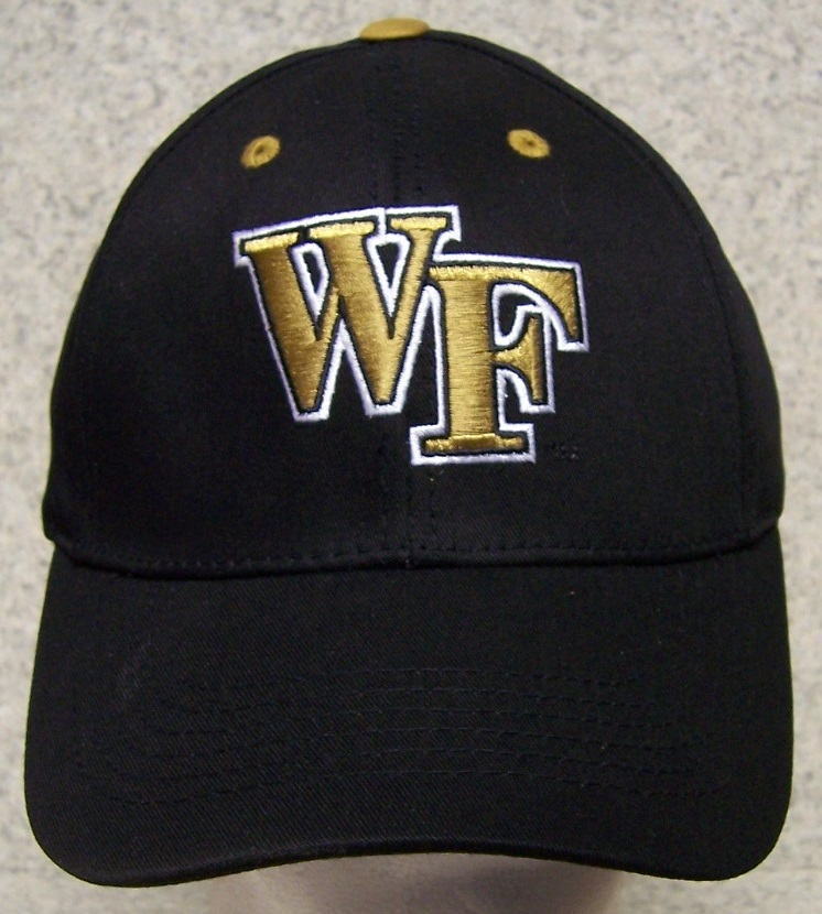 Wake Forest Demon Deacons NCAA Adjustable Size National Collegiate Athletic Association Baseball Cap thumbnail