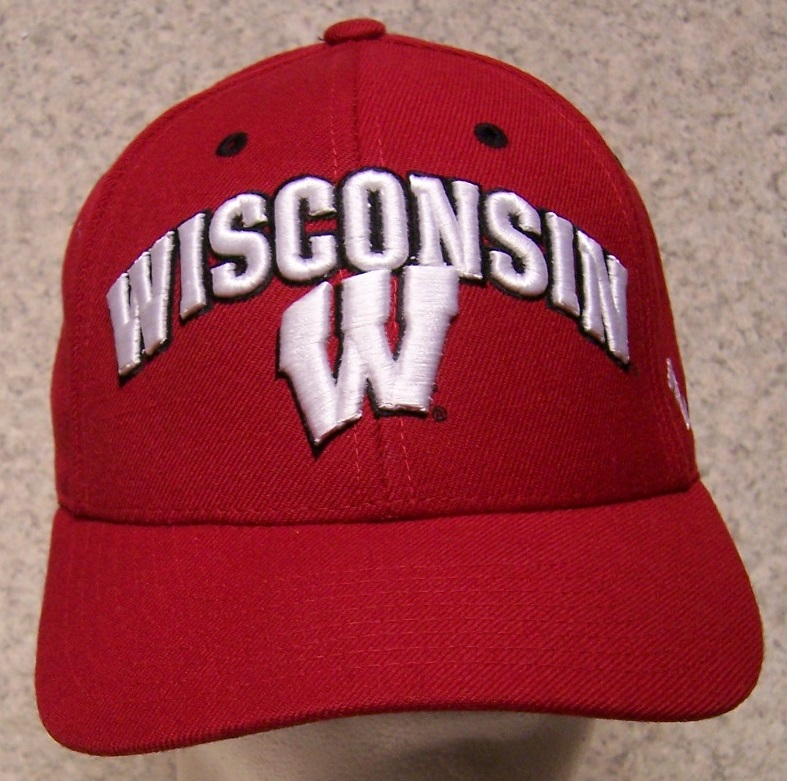 Wisconsin Badgers NCAA Adjustable Size National Collegiate Athletic Association Baseball Cap thumbnail