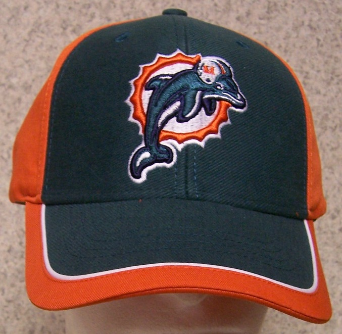 Miami Dolphins NFL Adjustable Size National Football League Baseball Cap thumbnail