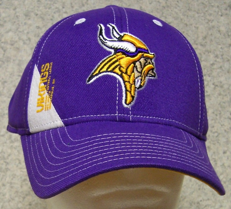 Minnesota Vikings NFL Adjustable Size National Football League Baseball Cap 3c3b35fdc0c
