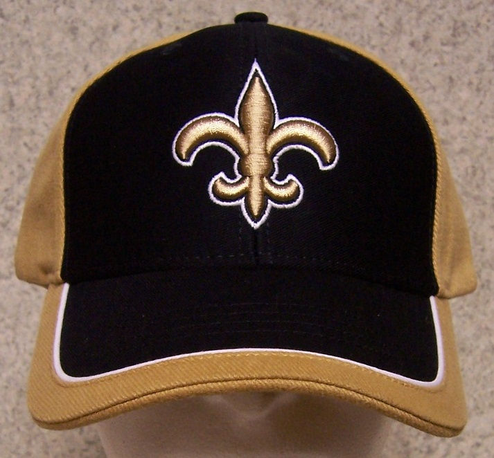New Orleans Saints NFL Adjustable Size National Football League Baseball Cap thumbnail