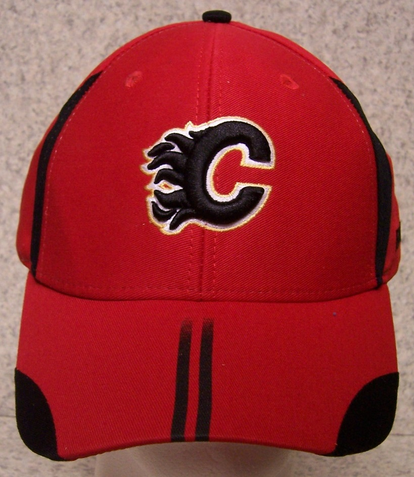 Calgary Flames NHL Adjustable Size National Hockey League Baseball Cap thumbnail