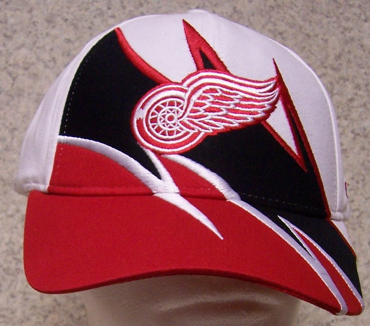 Detroit Red Wings NHL Adjustable Size National Hockey League Baseball Cap thumbnail