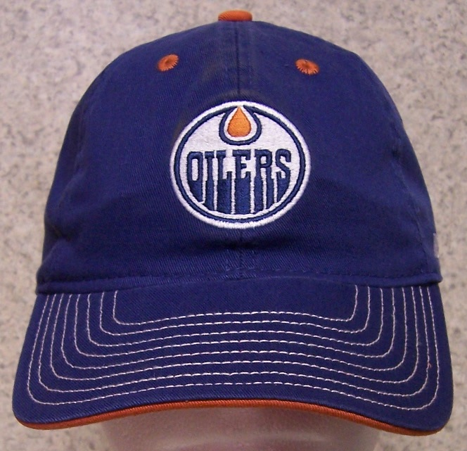 Edmonton Oilers NHL Adjustable Size National Hockey League Baseball Cap thumbnail