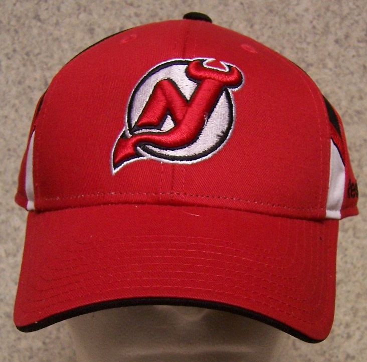 New Jersey Red Devils NHL Adjustable Size National Hockey League Baseball Cap thumbnail