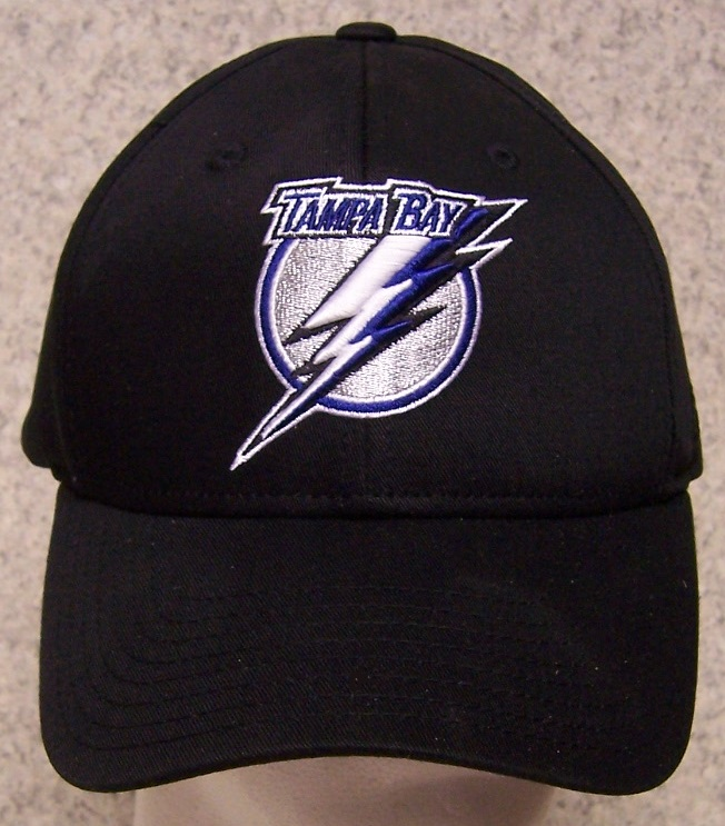 Tampa Bay Lightning NHL Adjustable Size National Hockey League Baseball Cap thumbnail