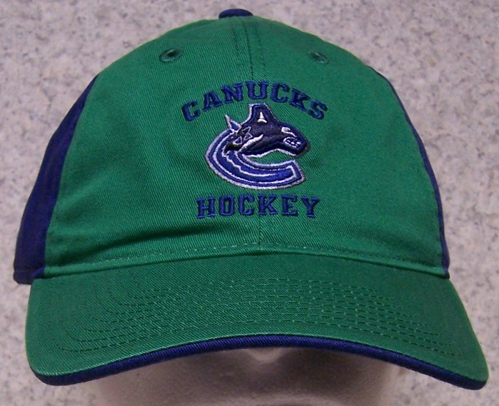 Vancouver Canucks NHL Adjustable Size National Hockey League Baseball Cap thumbnail