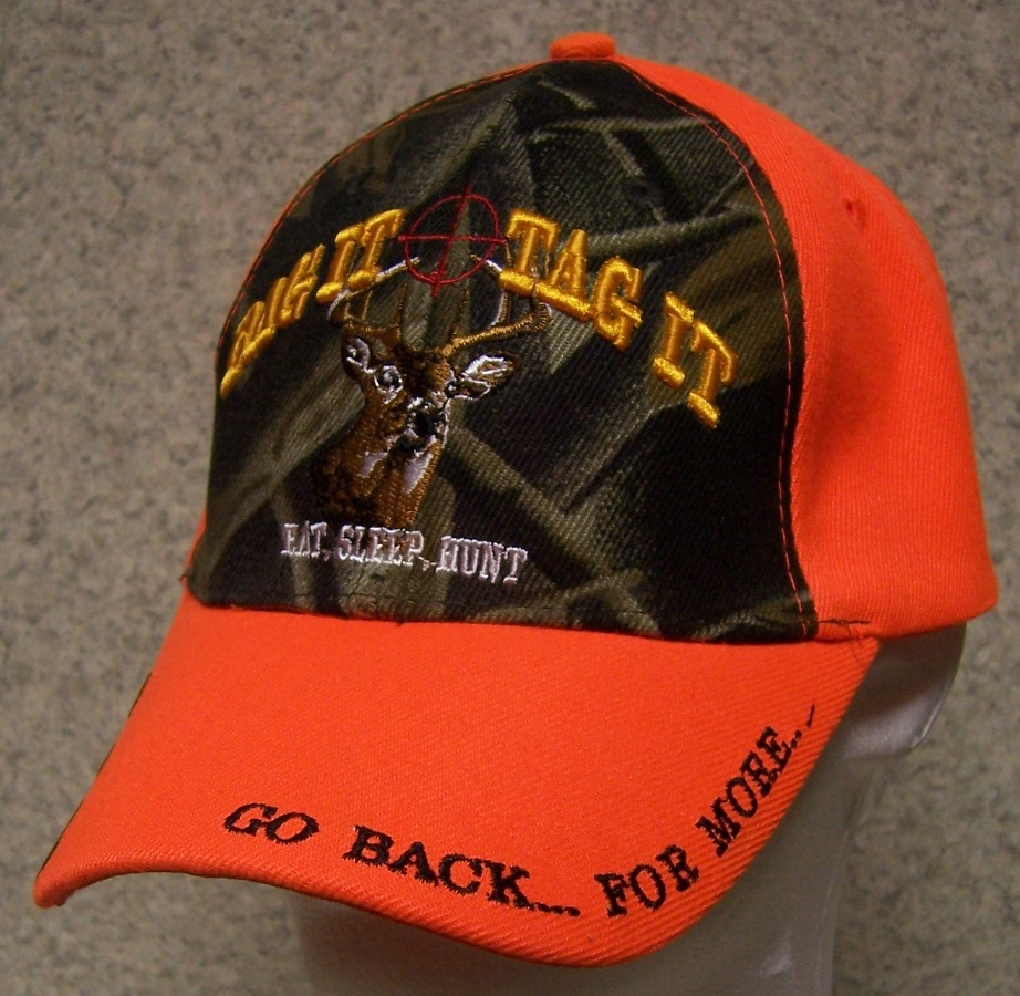 Bag It Tag It Adjustable Size Sportsman Baseball Cap thumbnail