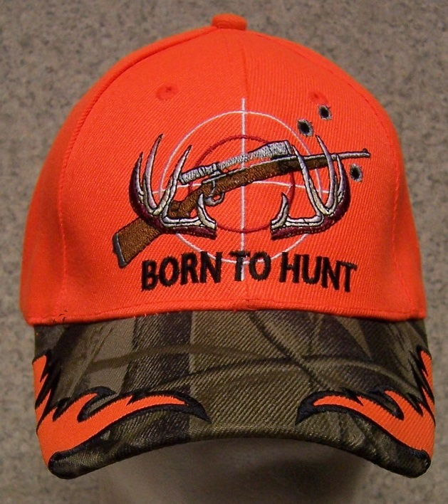 Born to Hunt Adjustable Size Sportsman Baseball Cap thumbnail