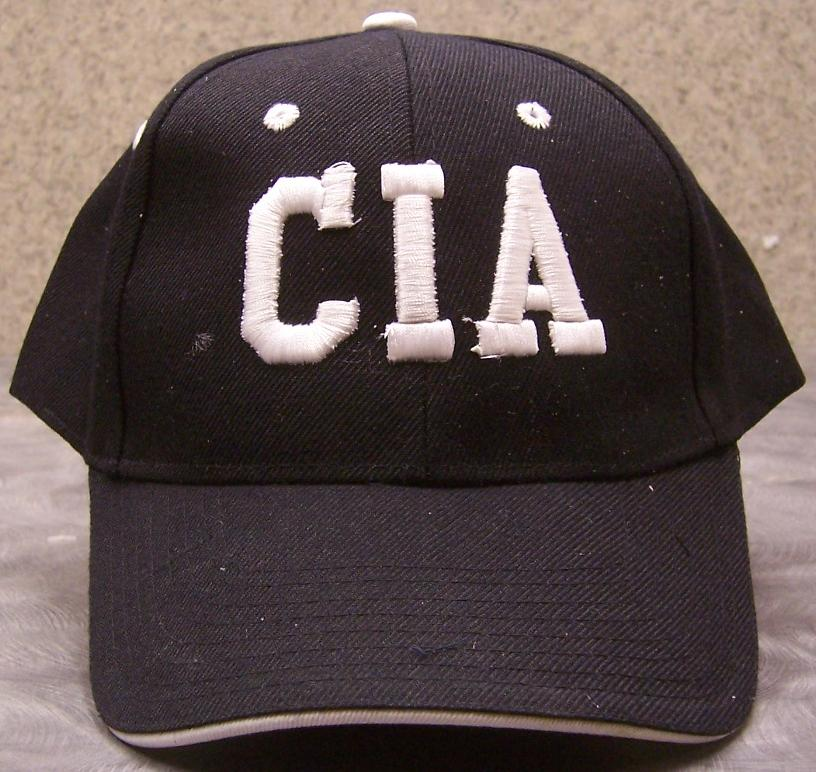 CIA Adjustable Size Law Enforcement Baseball Cap thumbnail