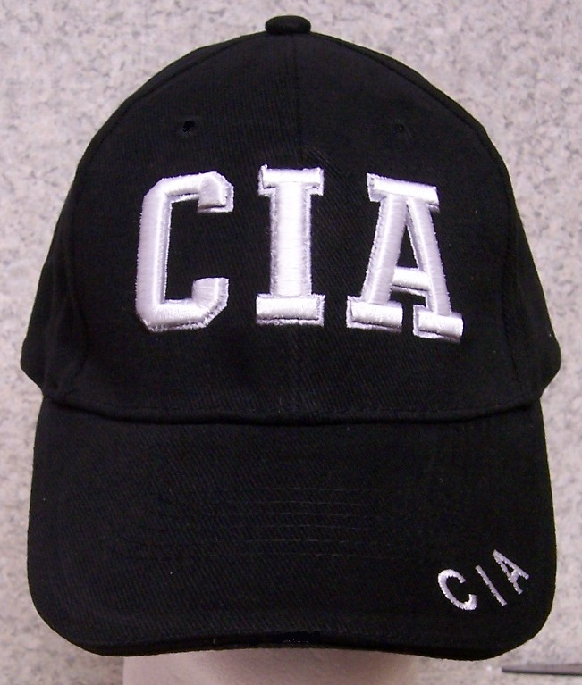 CIA Adjustable Size Law Enforcement Size Baseball Cap thumbnail