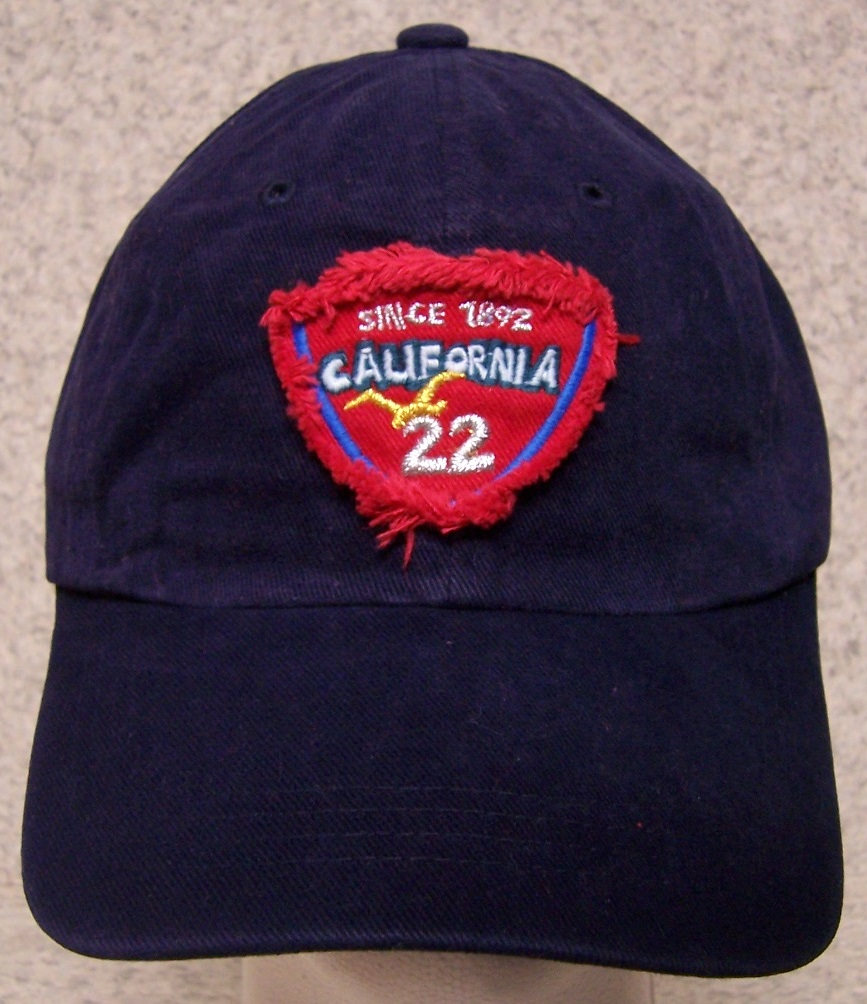 California Adjustable Size Baseball Cap thumbnail