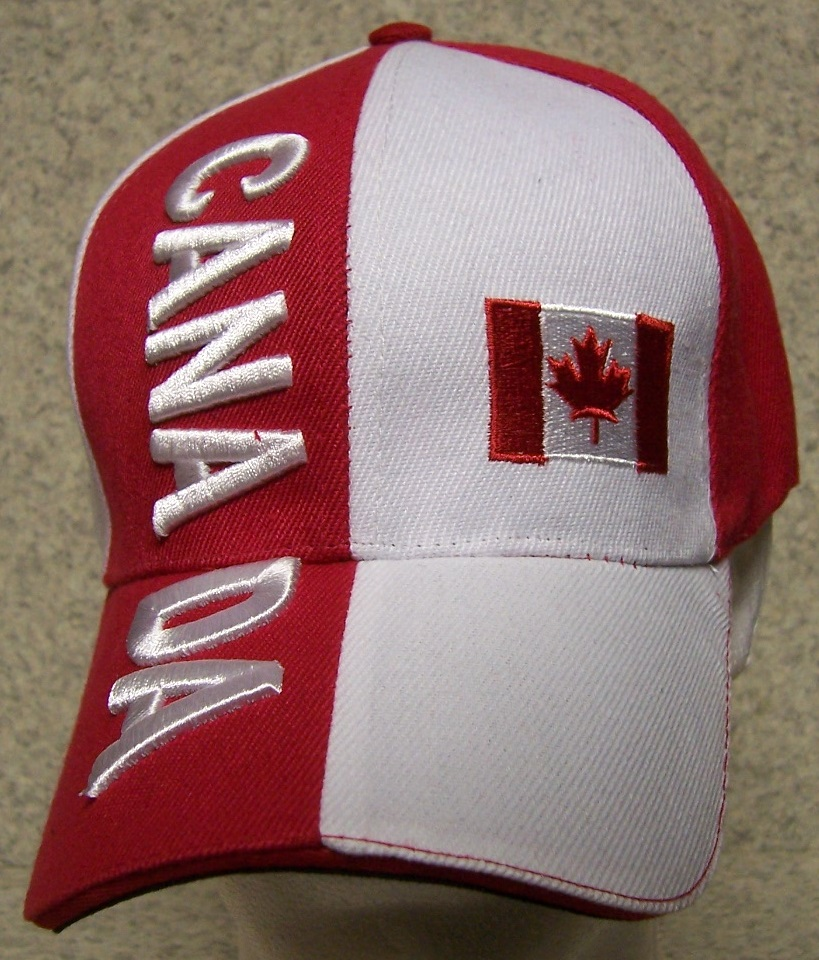 Embroidered baseball cap international canada new hat