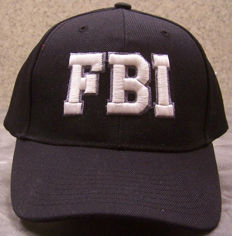 FBI Adjustable Size Law Enforcement Baseball Cap thumbnail