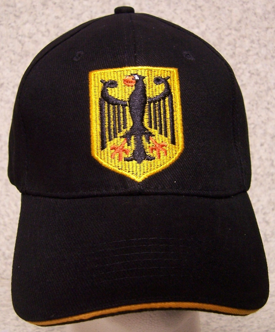 German Eagle Adjustable Size International Flag Baseball Cap thumbnail