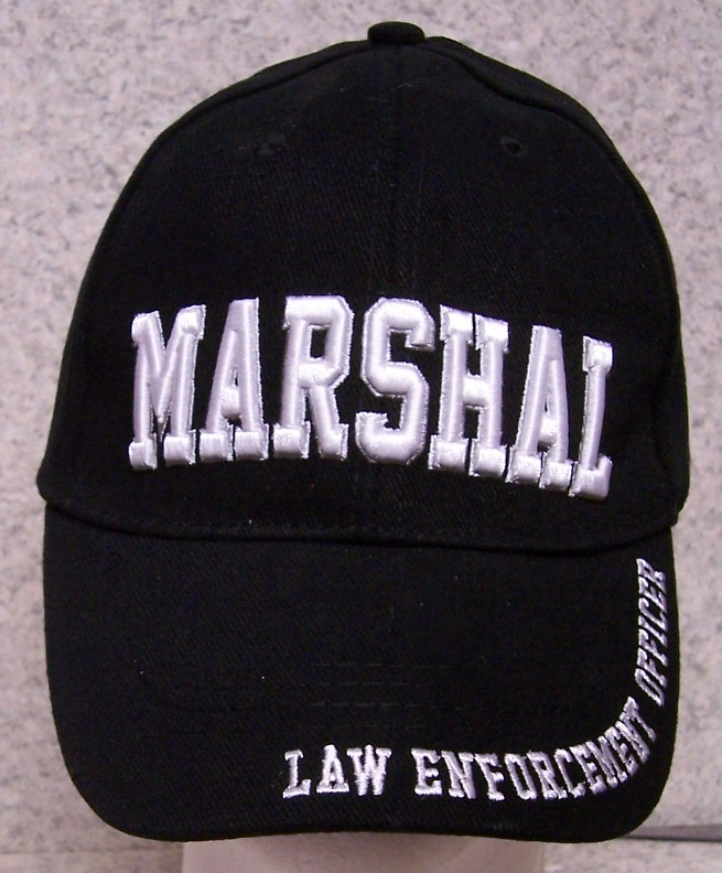 Marshall Adjustable Size Law Enforcement Baseball Cap thumbnail