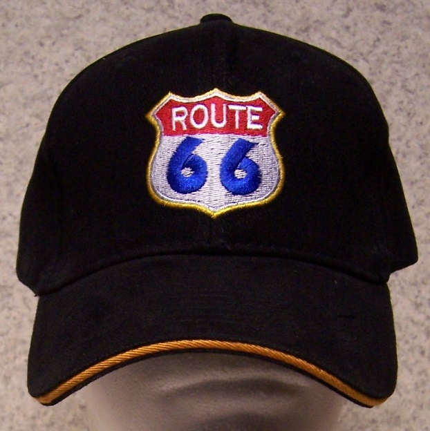 Route 66 Adjustable Size Baseball Cap thumbnail