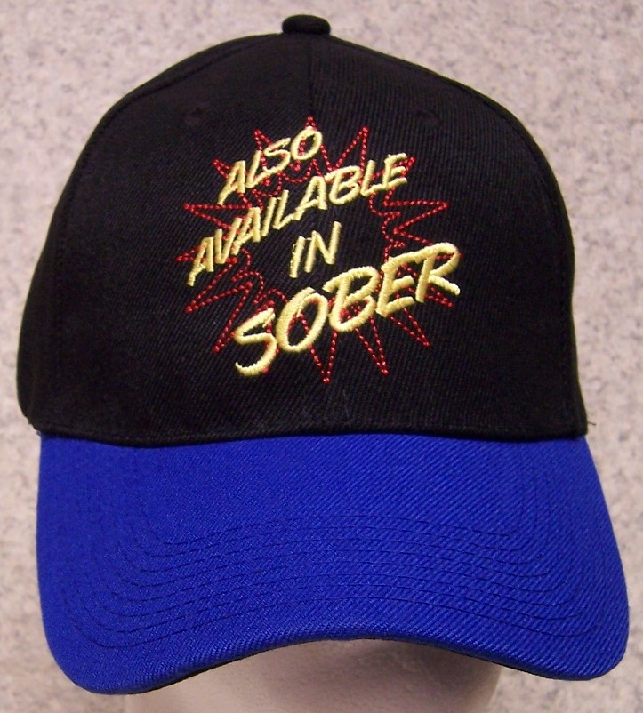 Also Available in Sober Novelty Adjustable Size Baseball Cap thumbnail