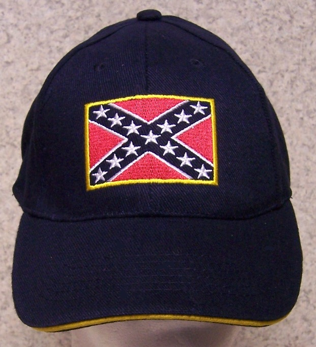 Battle Flag Confederate States Adjustable Size Baseball Cap thumbnail