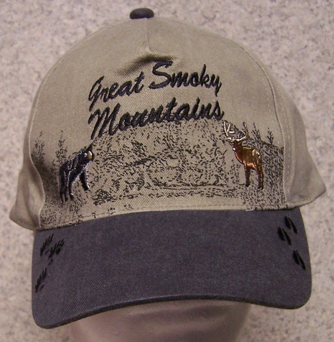 Great Smokey Mountains Adjustable Size Baseball Cap thumbnail