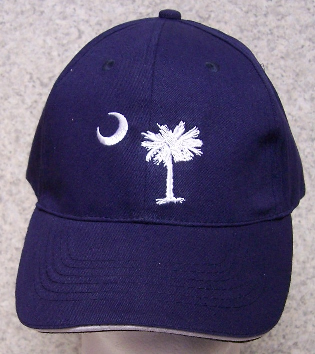 South Carolina Palmetto Tree Adjustable Size Baseball Cap thumbnail