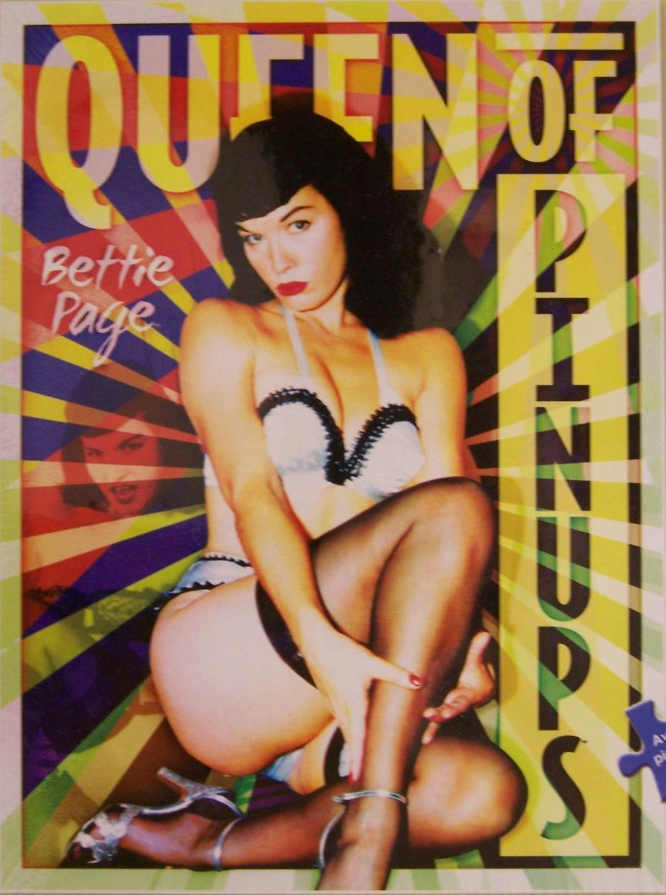 pin up queen page