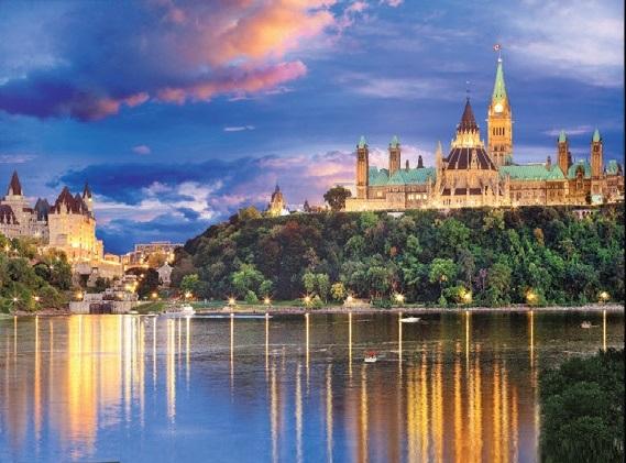 Jigsaw Puzzle International Parliament Hill Ottawa Canada