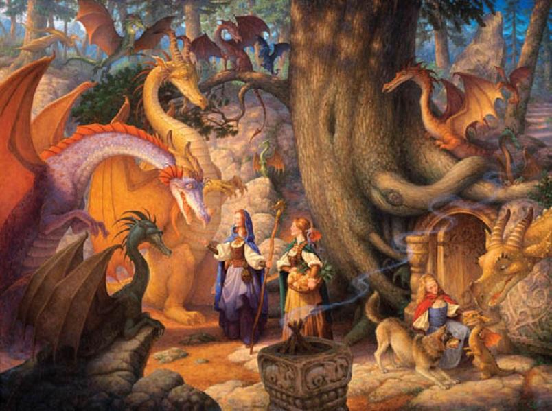 Dragon Jigsaw Puzzles Online – Billy Knight