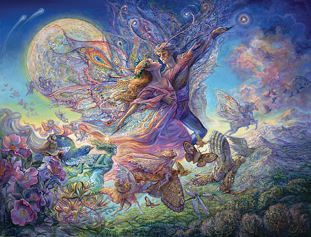 Welcome To The Manor Jigsaw Puzzles Angels Fantasy