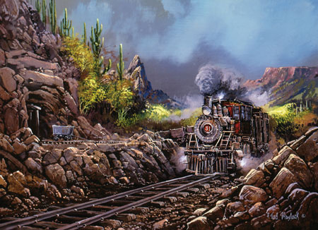 Lionheart Designs International - Trains Jigsaw Puzzles ...