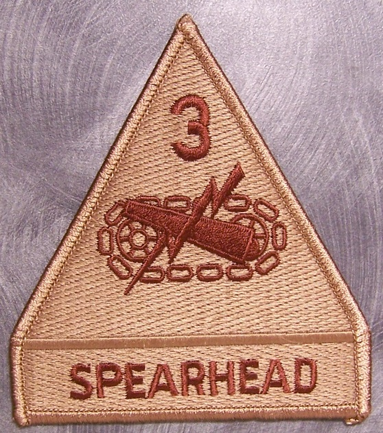 3rd Armored Division Patch 3rd Armor Division p