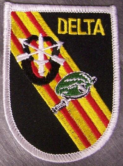 Embroidered Military Patch Vietnam U S Army Delta Force ...