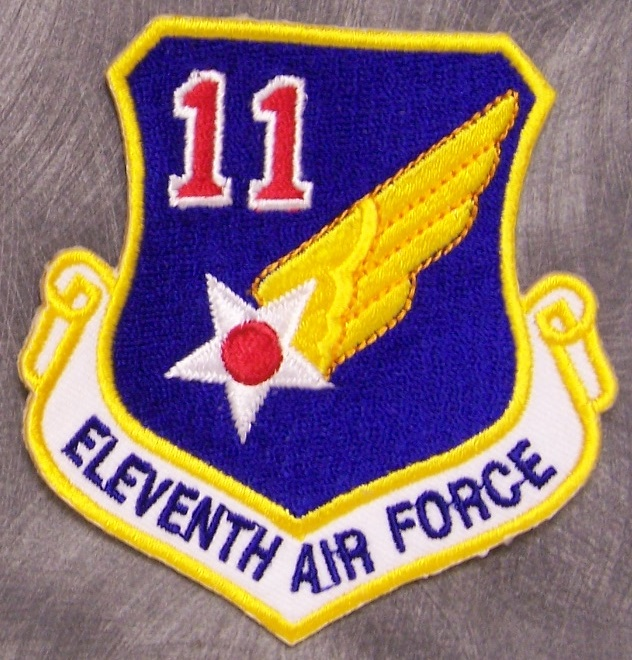 11th air force patch