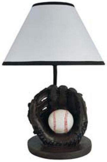 Baseball U0026 Glove Table Lamp