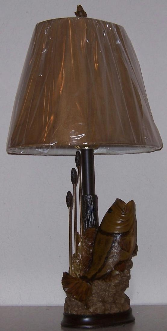 Awesome JPG · Bass Fish Table Lamp CL697R 2.