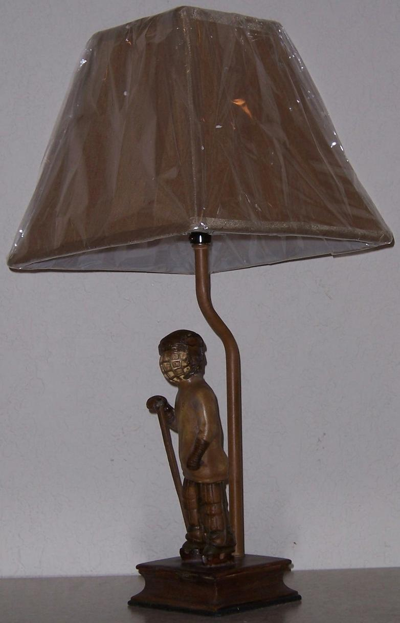 Cabin Table Lamps on From Our Rustic Cabin Collection This Sports Themed Table Lamp Is Made