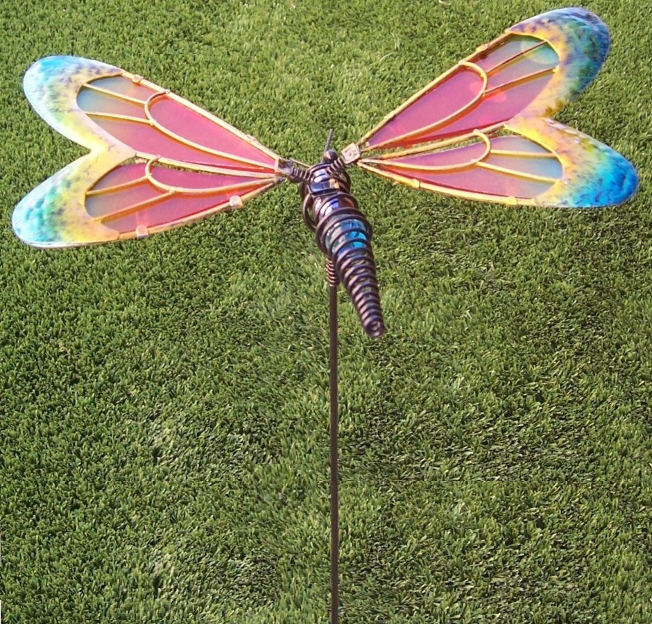 Dragonfly Lawn U0026 Garden Stake A Simply Way To Add Some Whimsy And Color To  Your Yard.