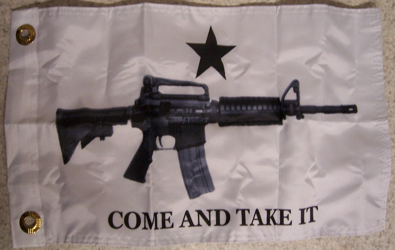 Flag 12x18 2nd Amendment Gonzales Flag Come and Take it NEW Banner 2 grommets