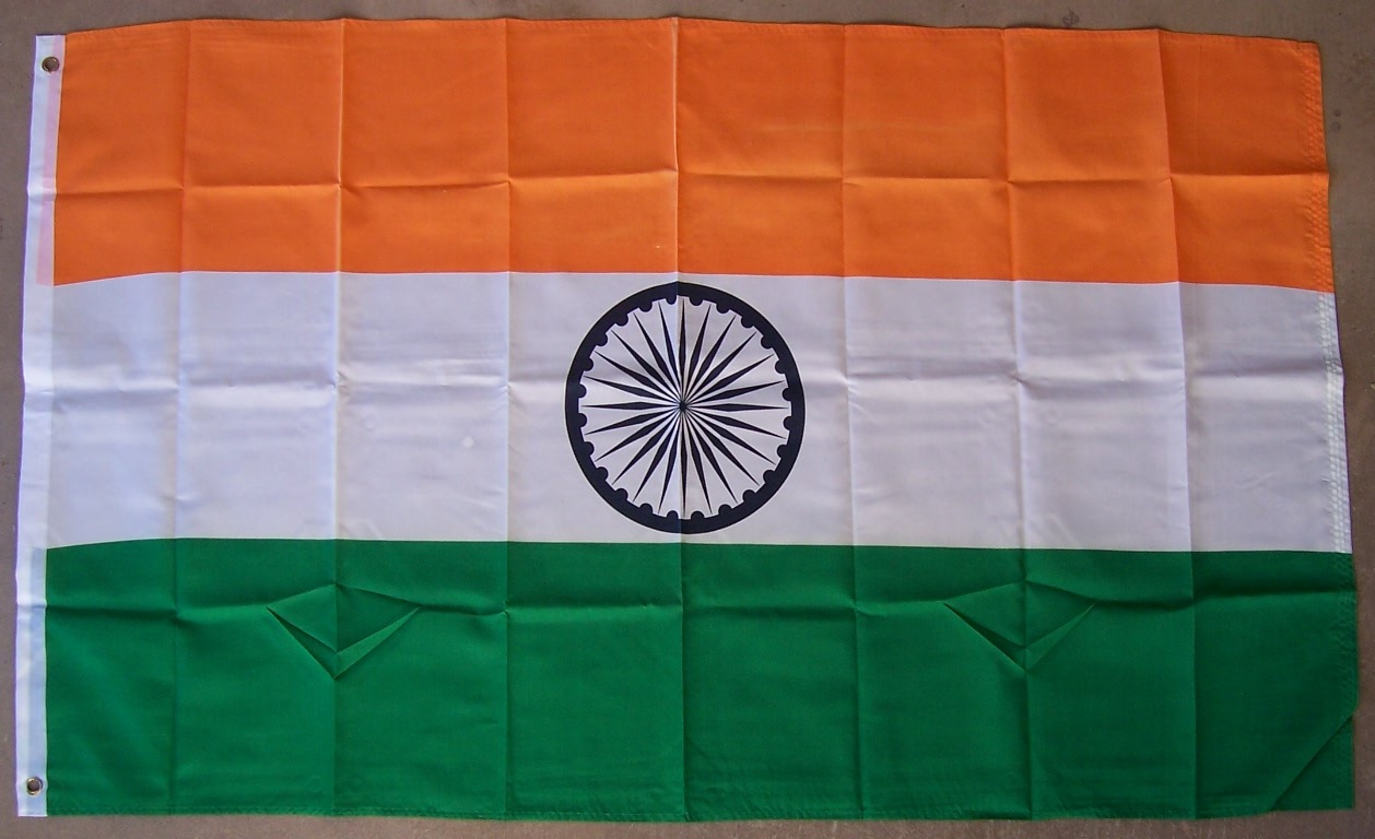 3ba2f2da8781 Details about Flag 3x5 International Country India NEW Banner 2 grommets