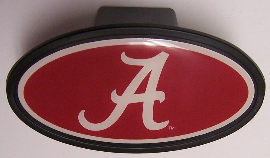 NCAA Alabama Crimson Tide Car Trailer Hitch Cover