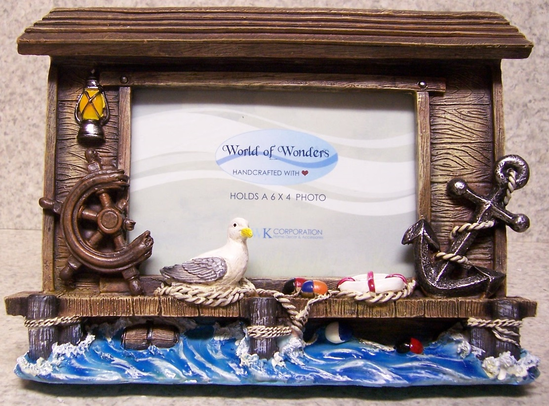 Picture Frame Maritime Memories 9 ¼\