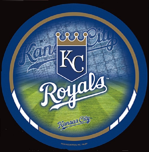 MLB Kansas City Royals 8-by-8 Inch Diecut Colored Decal