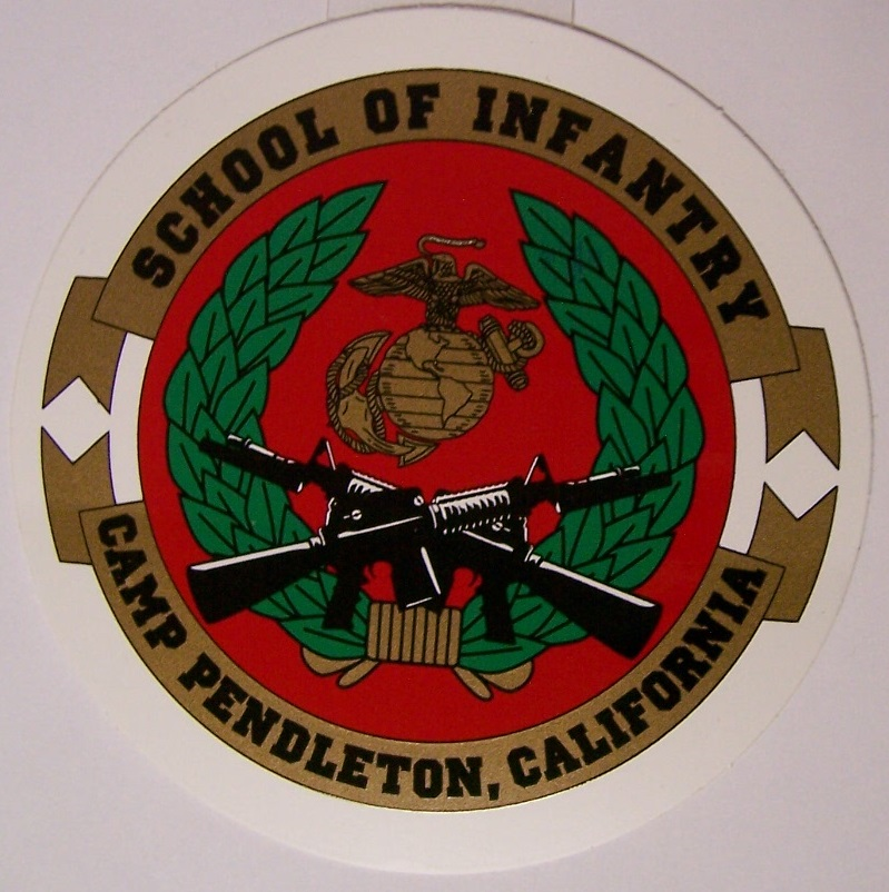 Window Bumper Sticker Military Marine Corps 1st First Division NEW Decal
