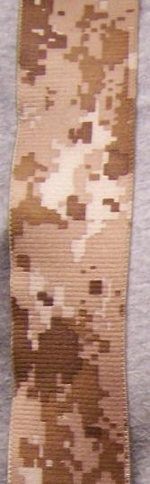 "Suspenders 2/""x48/"" FULLY Elastic Digital Desert Camouflage NEW"