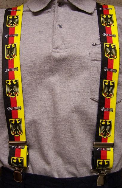 "Suspenders 2/""x48/"" FULLY Elastic Flag Canada NEW"