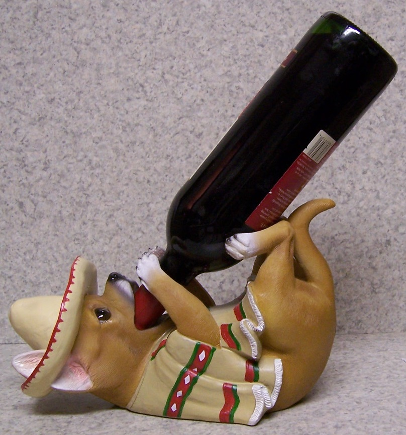Mexican Chihuahua Bottle Holder